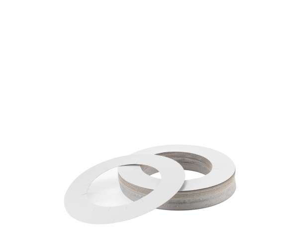 Accessories -   ROUND COLLARS FOR TINS (100 PCS) (AE007)