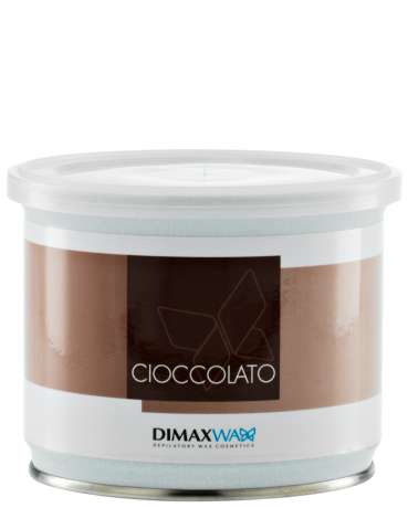 Tin 400 ml Ø 95 - DELICIOUS  CHOCOLATE (B9525)