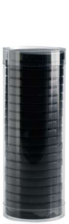 Brazilian Hot Wax Cans and Discs - 400 ml TUBE BLACK (BRA04DT05)