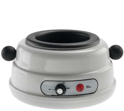 Wax warmer for cans - BASE  WHITE 400 / 500 ML (FSB01)