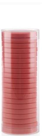 Pelable Wax tin and tubes - EXTRA 400 ml TUBE TITANIUM PINK (FWE04DT02)