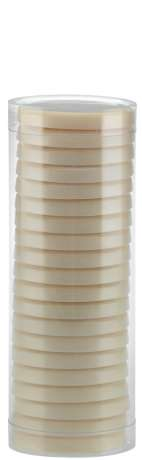 Pelable Wax tin and tubes - EXTRA 400 ml TUBE WHITE PEARL (FWE04DT03)