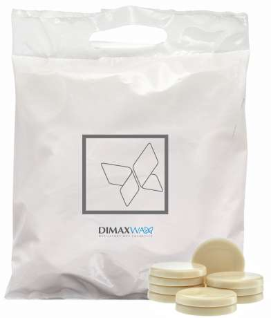 Pelable Wax tin and tubes - EXTRA 1000 ml BAG WHITE PEARL (FWE10DBU03)