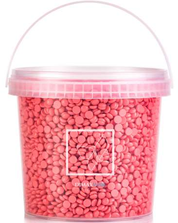 Pelable Filmwax in gocce - EXTRA 1000 ml BARATTOLO ROSA (FWE100GB02)